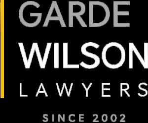 Garde Wilson Lawyers Logo